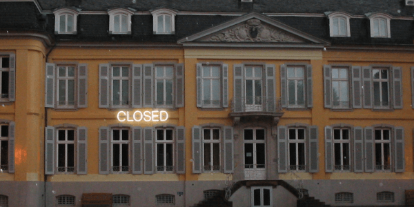 Jonathan Monk, 'CLOSED', 2008